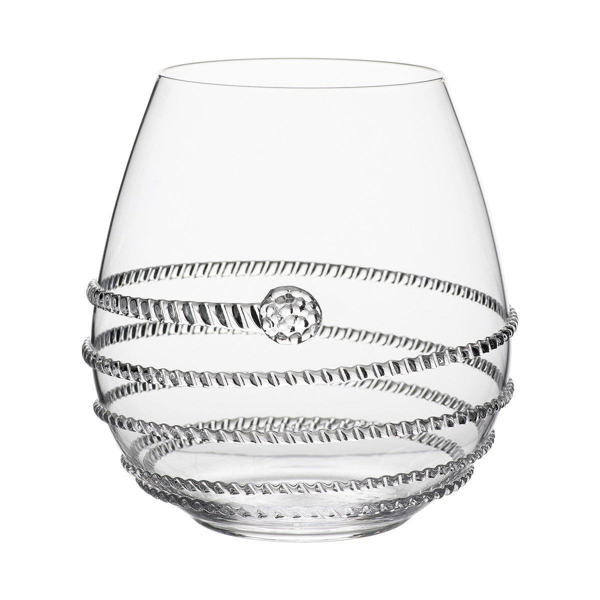Juliska Amalia Stemless Red Wine Glass