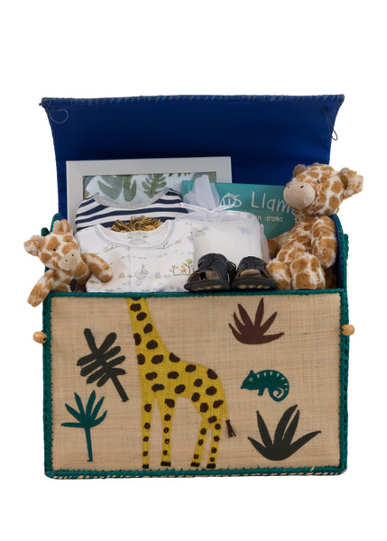 Baby Boy Safari Gift Set