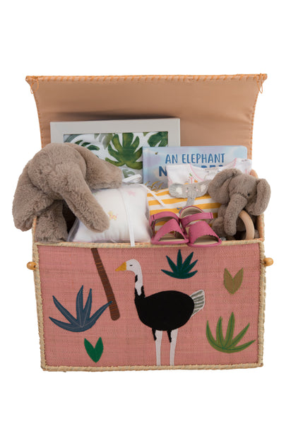 Baby Girl Safari Gift Set
