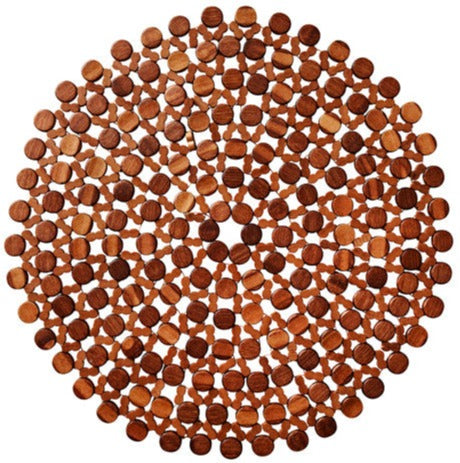 Brown Bamboo Round Placemat