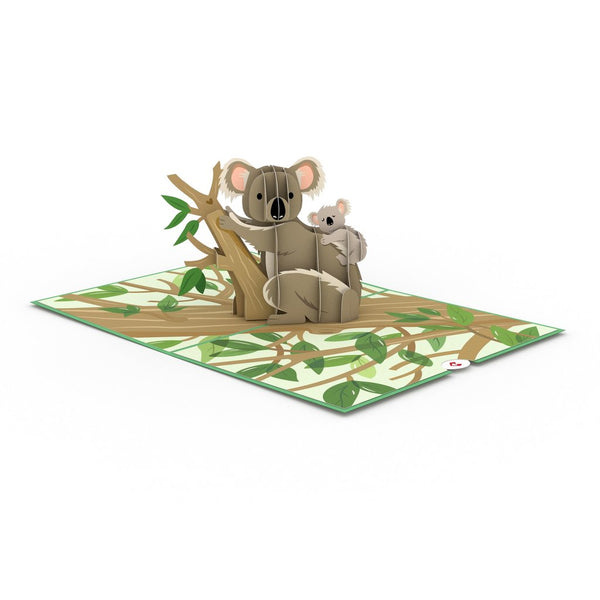 Pop Up Card, Koala Family