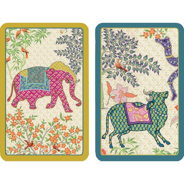 Le Jardin Playing Cards with Acrylic Holder
