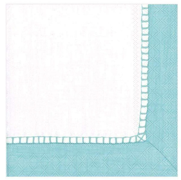 Linen Robins Egg Blue Cocktail Napkins