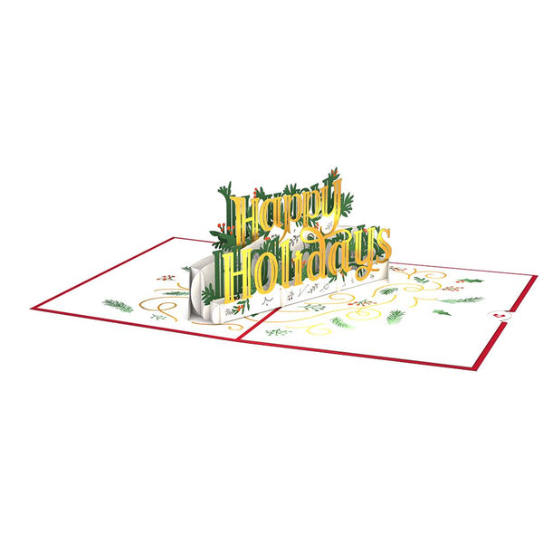 Pop Up Card, Happy Holidays