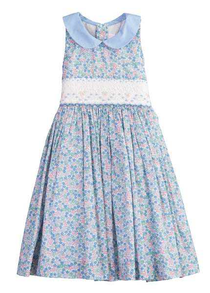 Antoinette Lady Blue Dress