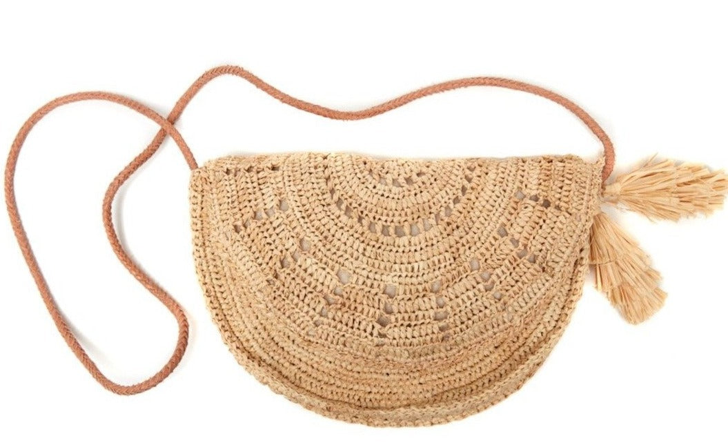 Mar Y Sol Lila Crossbody - Natural