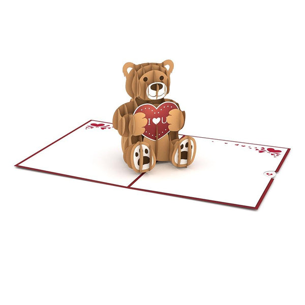 Pop Up Card, Love Bear