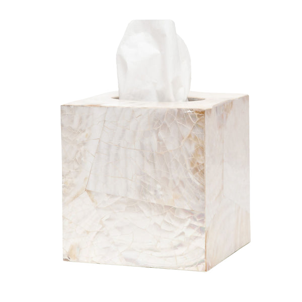 Pigeon & Poodle Lugano Square Tissue Box Cover