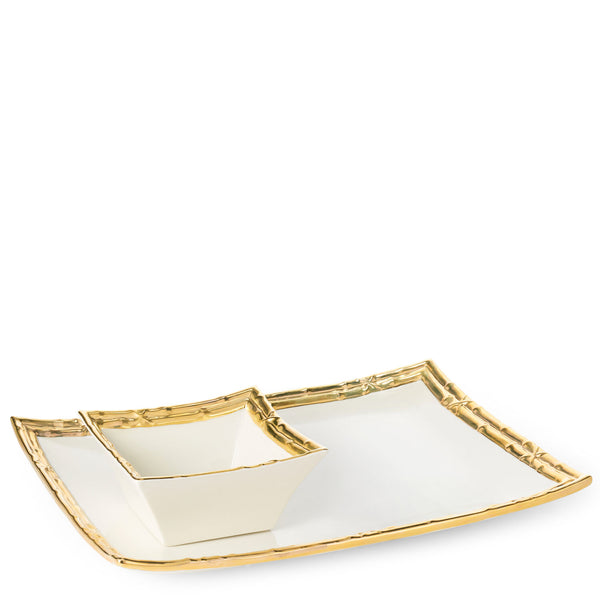 AERIN Mayotte Chip and Dip Set