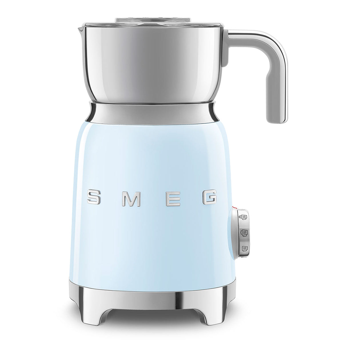SMEG Milk Frother, Pastel Blue