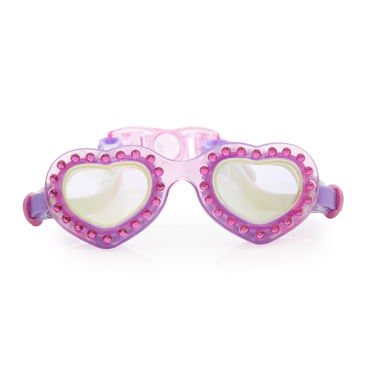 Bling2o Heart Throb Swim Goggles, First Crush Fuchsia