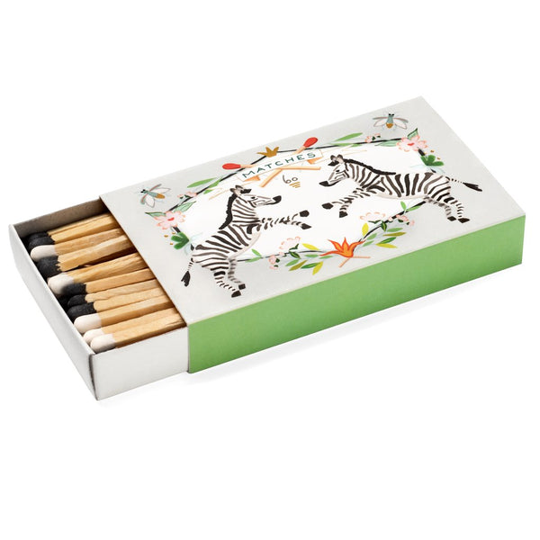 Karen Adams Matchbox - Zebra