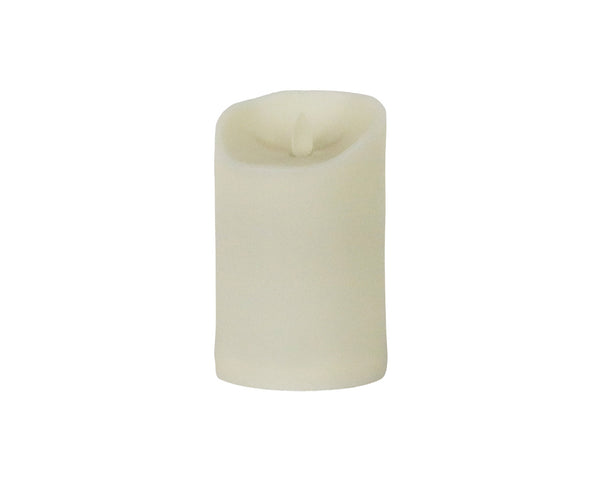 moving flame outdoor pillar LED candle