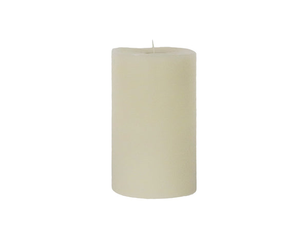 Moving Flame Outdoor Pillar LED Candle, 4 X 7