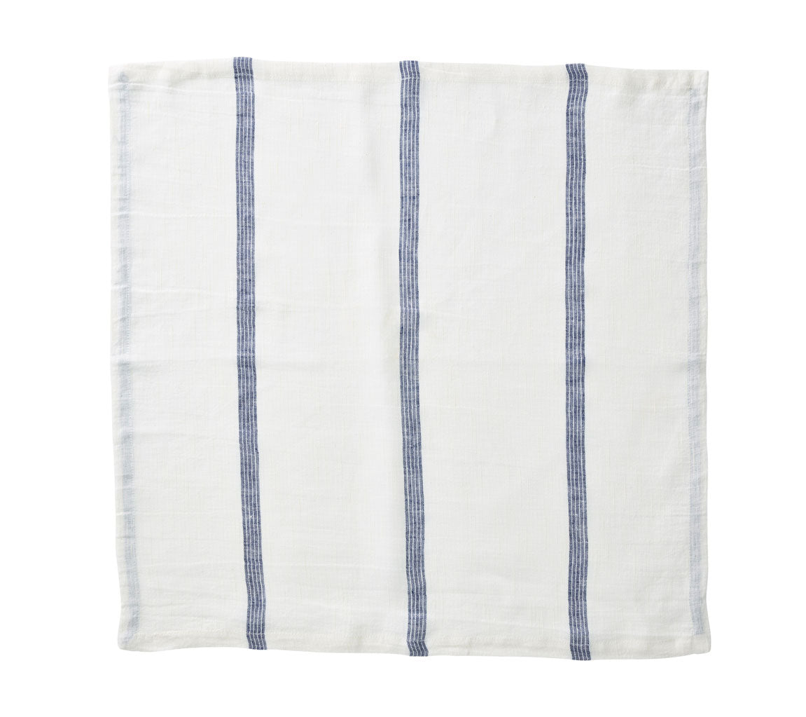 Set of 4 Provence Stripe Napkins