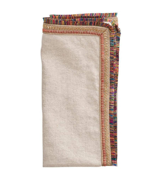 spectrum napkin, natural/multi