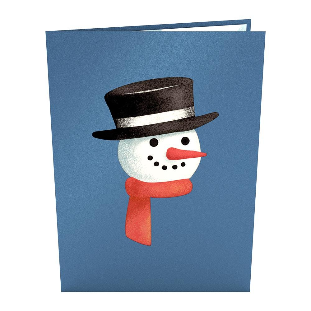 Pop Up Card, Night Before Christmas Snowman