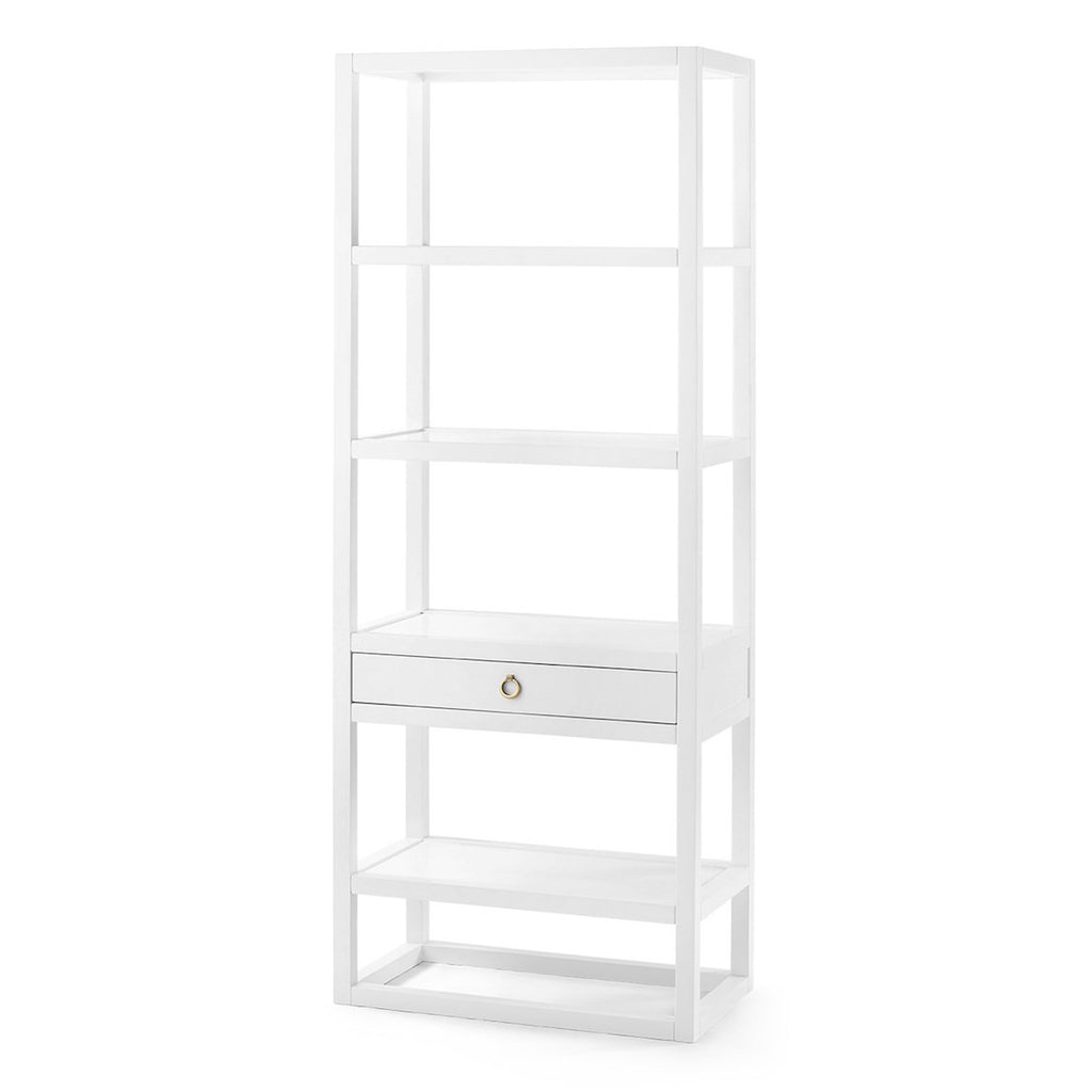White Lacquer Etagere