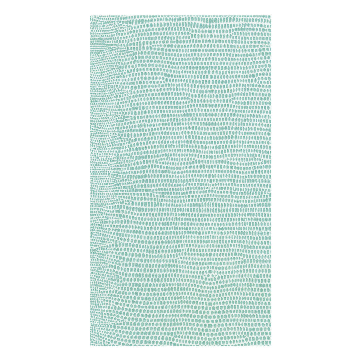 Lizard Turquoise Guest Towels