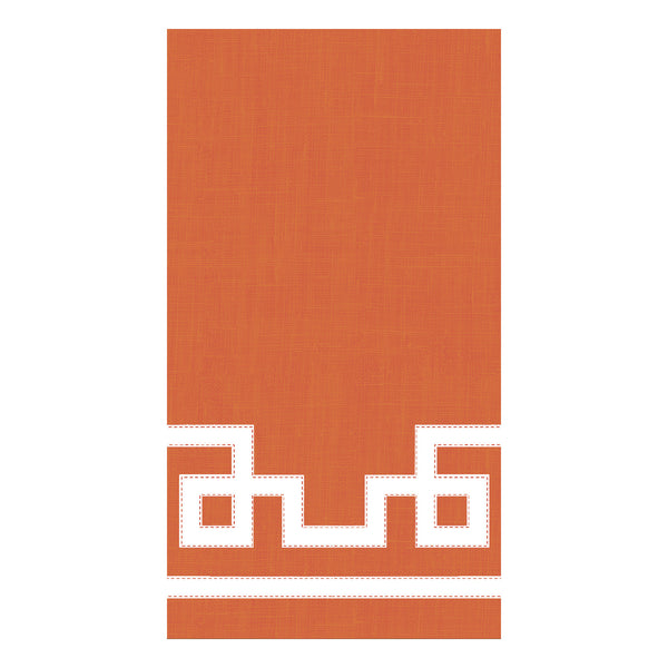 Rive Gauche Orange Guest Towels