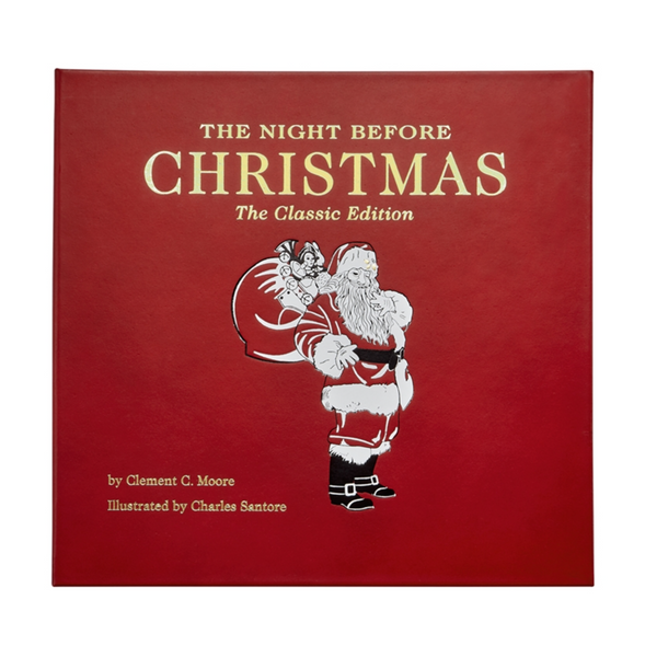The Night Before Christmas Book, Leather
