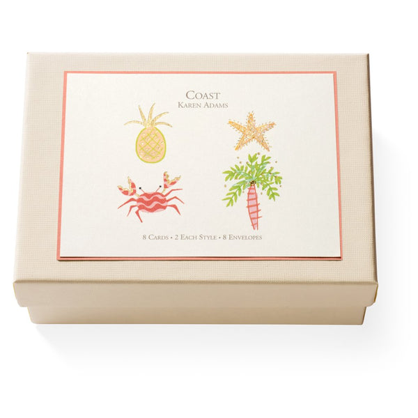 Note Card Box - Coast