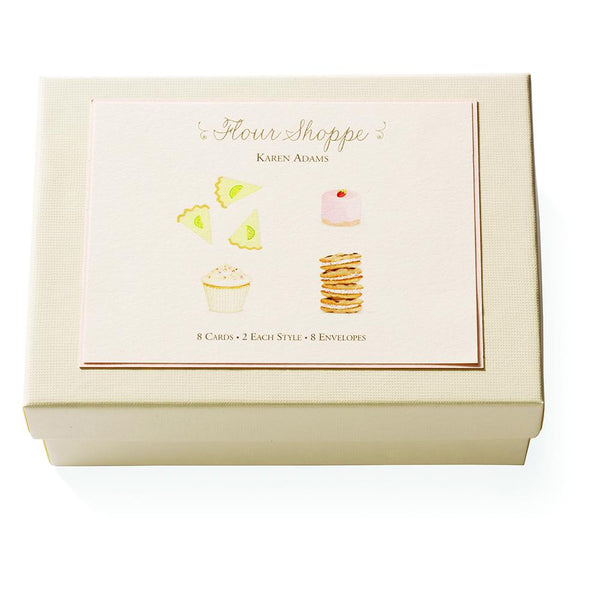 Note Card Box - Flour Shoppe