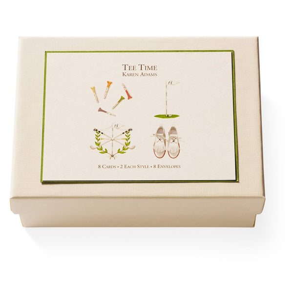 Note Card Box - Tee Time