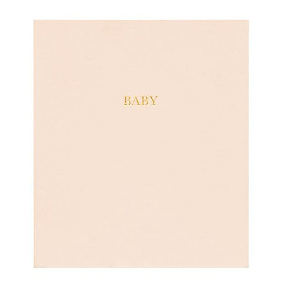 Baby Book, Pale Pink