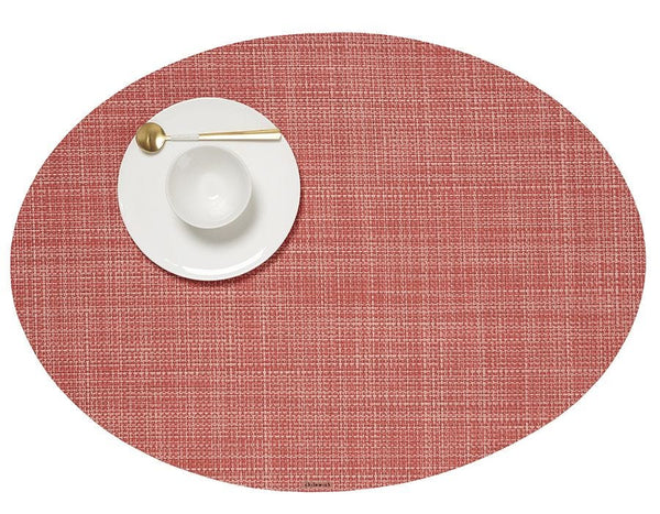 Oval Placemat, Guava