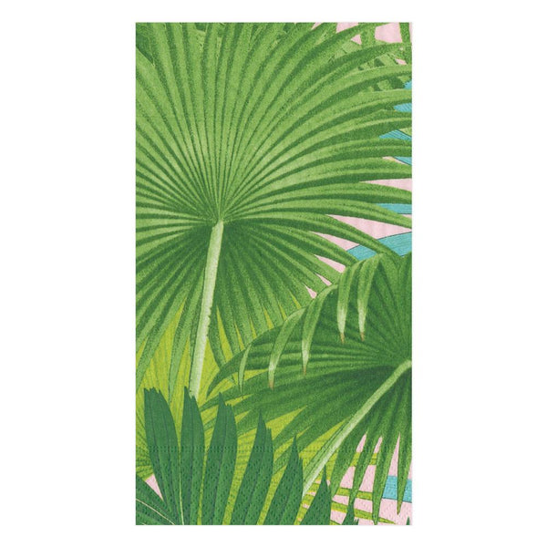 Palm Fronds Sunset Guest Towels