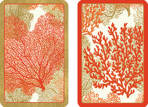 Sea Fans Playing Cards