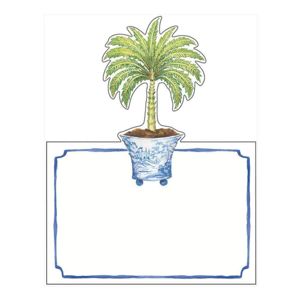 Potted Palms Place Cards