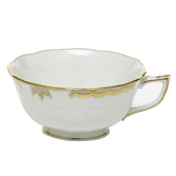 Herend Princess Victoria Tea Cup, Gray 8 oz.