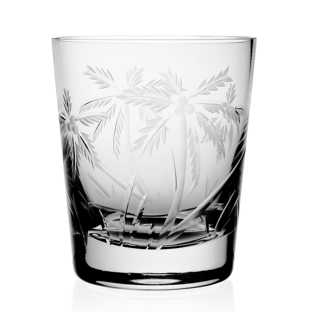 William Yeoward Crystal Palmyra Double Old Fashioned Tumbler