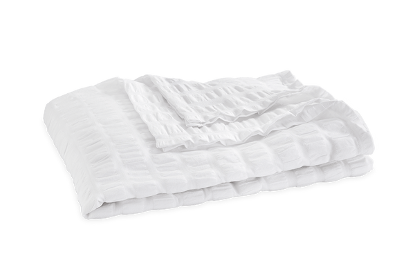 Matouk Panama Bedding Collection - White