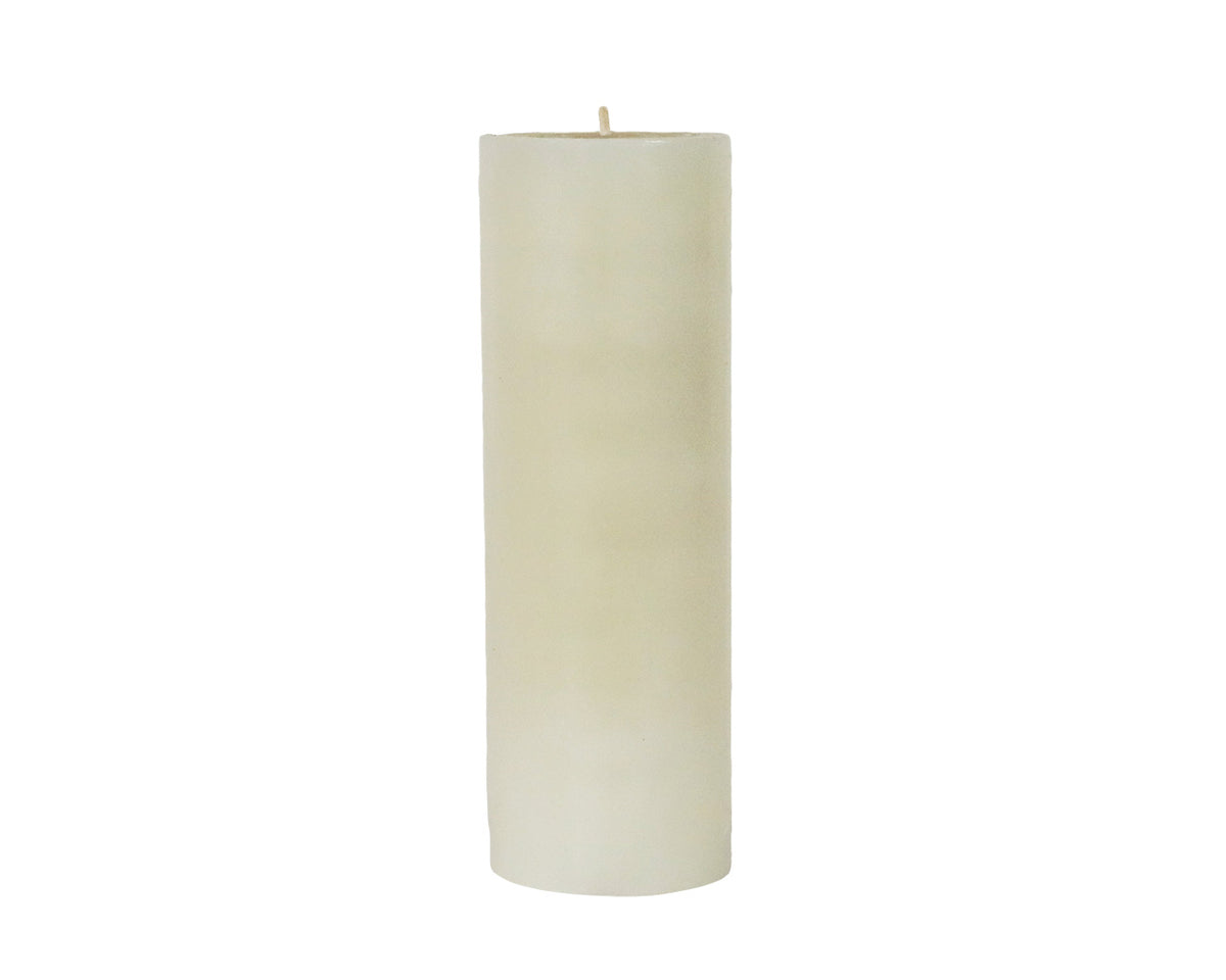"9"" solid pillar candle"