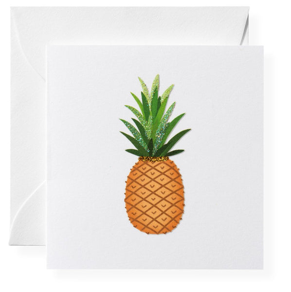 Pineapple Welcome Gift Enclosures, Set of 6