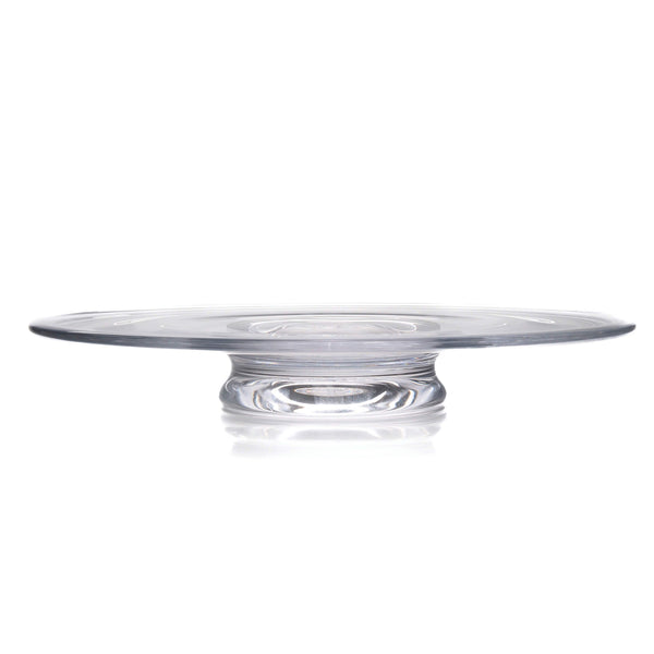 "Simon Pearce Revere Platter Small, 2"" X 14"""