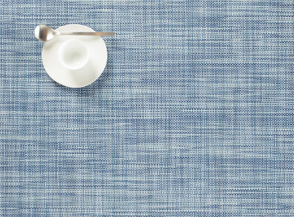 Rectangular Placemat, Chambray, Mini Basketweave