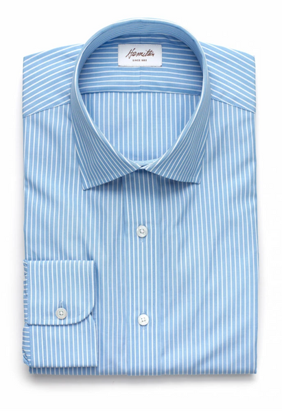 Hamilton Rockford Stripe Shirt, Trim