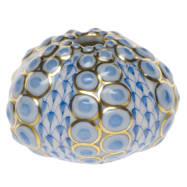 Herend Sea Urchin, Blue
