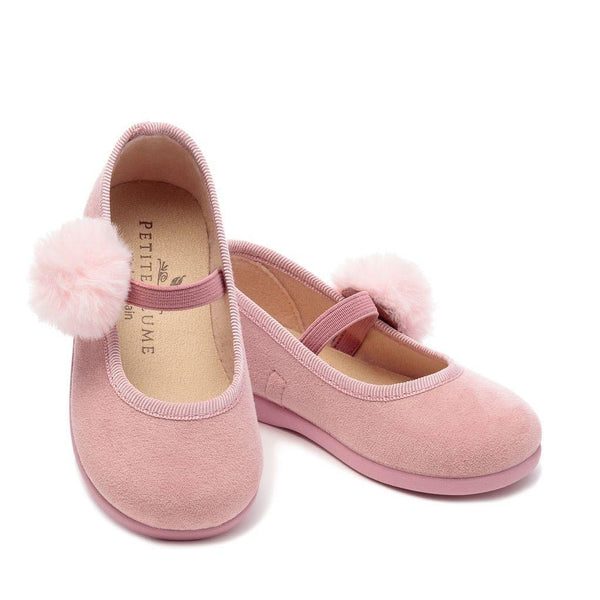 Girls Delphine Slipper with Pom