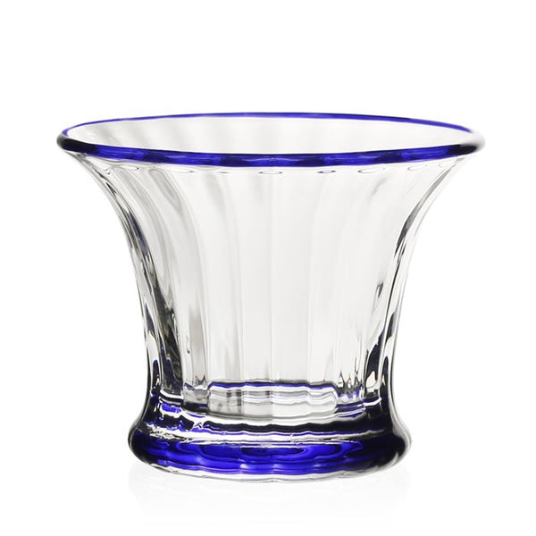 William Yeoward Crystal Siena Mini Vase/Sorbet, Blue