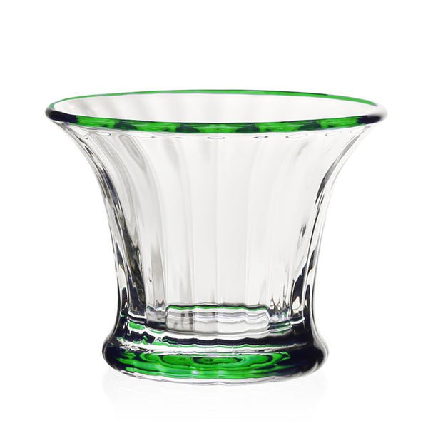 William Yeoward Crystal Siena Mini Vase/Sorbet, Green