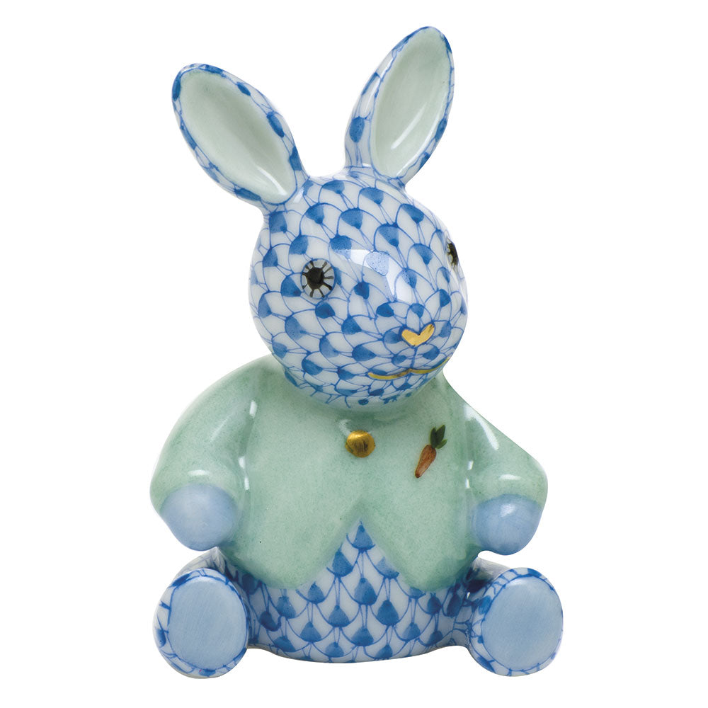 Herend Sweater Bunny, Blue