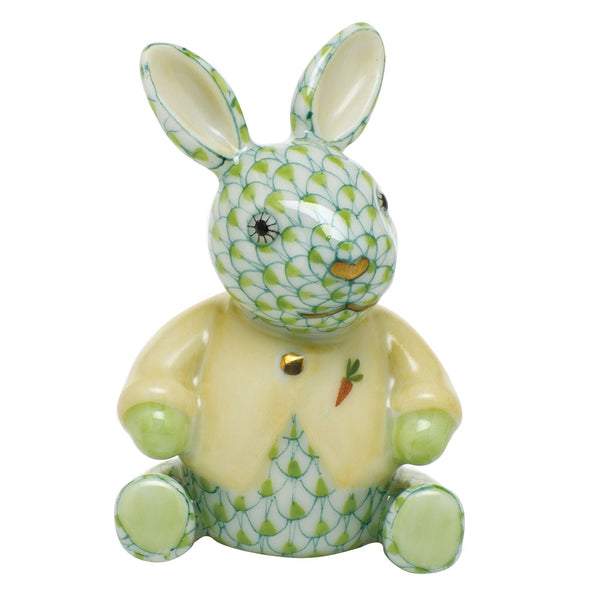 Herend Sweater Bunny, Key Lime Green