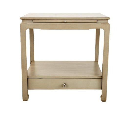 Sara Side Table in Modern French Gray