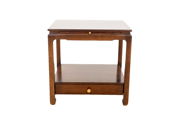 Sara Side Table in Dark Walnut
