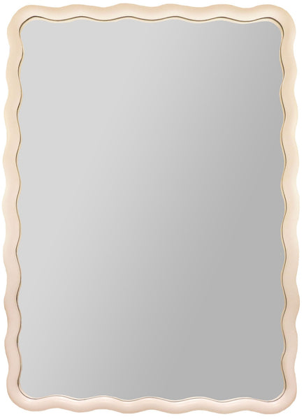 Scalloped Rectangle Mirror